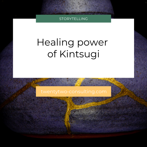 Healing, kintsugi and art therapy