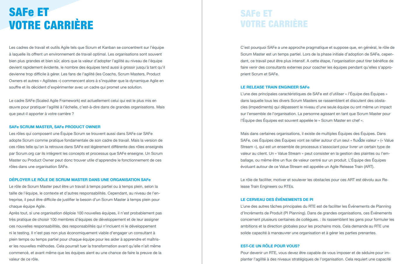 English-French translation of a white paper